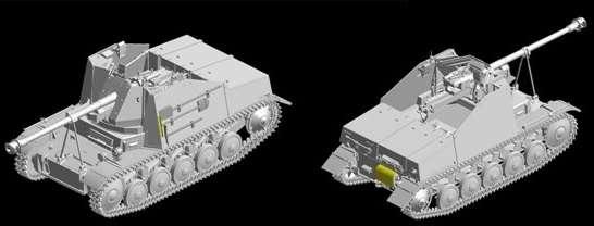 Dragon 6769 w skali 1/35 - model do sklejania Marder II Panzerjager II fur Pak 40/2 - image h
