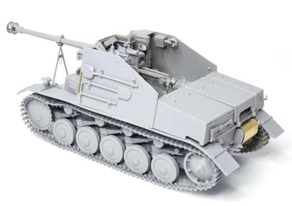Dragon 6769 w skali 1/35 - model do sklejania Marder II Panzerjager II fur Pak 40/2 - image f