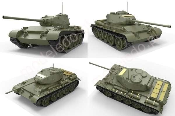 Model Miniart 35193 T-44 Radziecki czołg średni