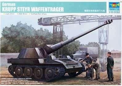 Model Trumpeter 01598 - German Krupp Steyr Waffentrager
