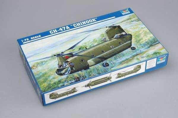 Model Trumpeter 01621 Śmigłowiec CH-47A Chinook
