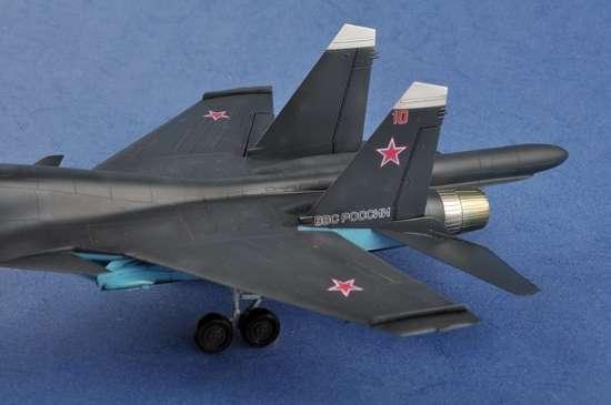 Model Trumpeter 01652 Su-34 Fullback Fighter - Bomber