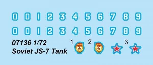 Soviet heavy tank IS7 in scale 1:72 model_trumpeter_tru07136_image_1