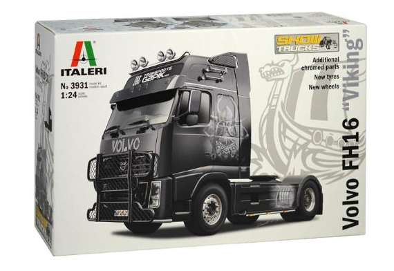 Ciężarówka do sklejania Volvo FH16 XXL Viking w skali 1-24 Italeri 3931 ita3931_image_2-image_Italeri_3931_4