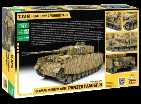Model Zvezda 3620 Panzer IV ausf.H German medium tank