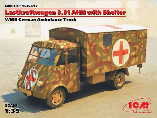 Model ambulansu AHN ICM 35417
