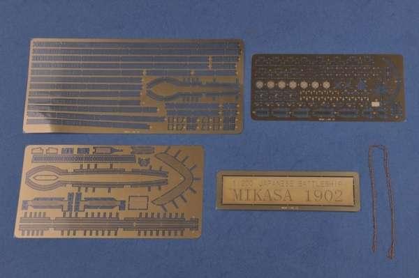 Elementy fototrawione oraz metalowy łańcuch modelu Hobby Boss 82002