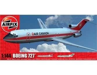 Samolot pasażerski Boeing 727 - Airfix 04177 plastikowy model do sklejania, model_airfix_04177_image_2-image_Airfix_A04177_3