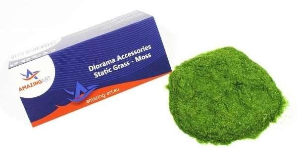 Sztuczna trawa statyczna - leśna zieleń 1mm - Amazing Art 13586