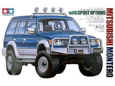 Tamiya 24124 Mitsubishi Montero with Sport Options