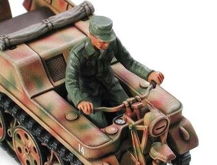 Tamiya 32502 Kettenkraftrad w/Infantry cart & Goliath