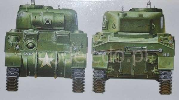 Tamiya 35190 w skali 1:35 - model U.S. Medium Tank M4 Sherman (Early Production) do sklejania - image e