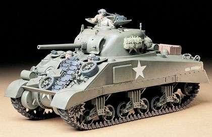 Tamiya 35190 w skali 1:35 - model U.S. Medium Tank M4 Sherman (Early Production) do sklejania - image a
