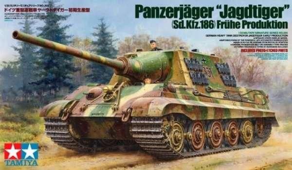 Tamiya 35295 model do sklejania niemieckiego niszczyciela czołgów Panzerjager Jagdtiger