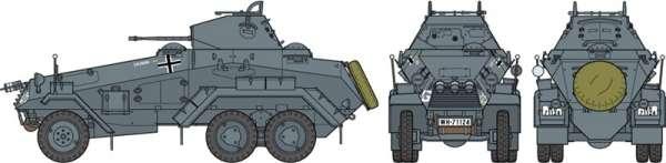 Tamiya 37024 Sd.Kfz.231 German 6-Wheeled Heavy Armored Car