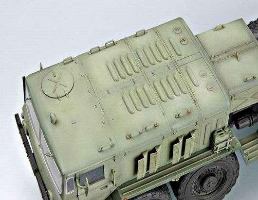 Trumpeter 00211 Soviet Tank Transporter MAZ 537G