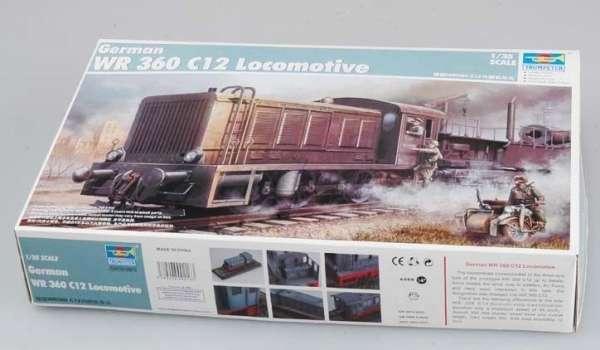 Trumpeter 00216 w skali 1:35 - model German WR 360 C12 Locomotive do sklejania - image m