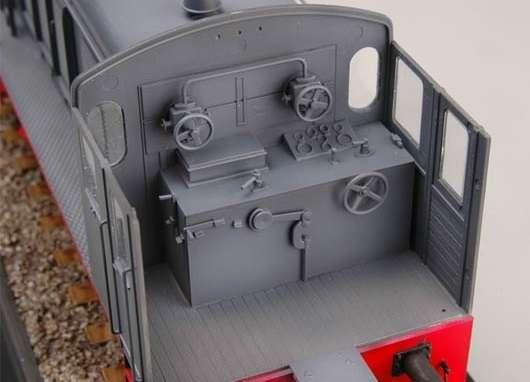 Trumpeter 00216 w skali 1:35 - model German WR 360 C12 Locomotive do sklejania - image f