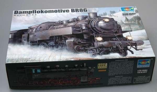 Trumpeter 00217 w skali 1:35 - model Dampflokomotive BR86 - image a