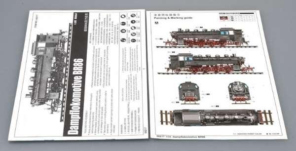 Trumpeter 00217 w skali 1:35 - model Dampflokomotive BR86 - image b
