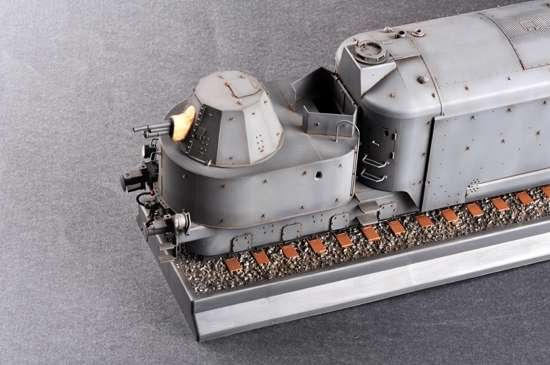 Trumpeter 00223 w skali 1:35 - model German Armored Train Panzertriebwagen Nr.16 - image g-image_Trumpeter_00223_3