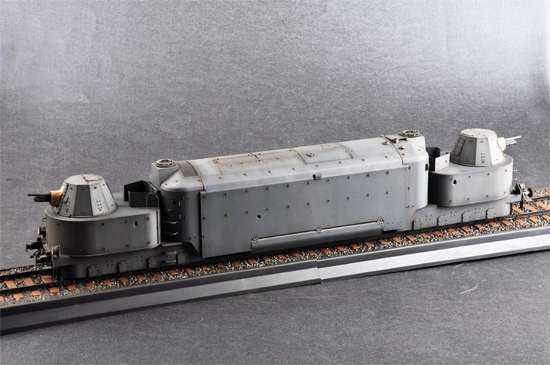 Trumpeter 00223 w skali 1:35 - model German Armored Train Panzertriebwagen Nr.16 - image h