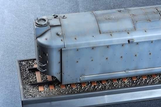 Trumpeter 00223 w skali 1:35 - model German Armored Train Panzertriebwagen Nr.16 - image e-image_Trumpeter_00223_3