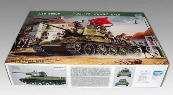 Trumpeter 00903 w skali 1:16 - model Soviet Tank T34/76 model 1943 - image m