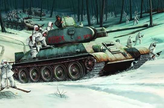 Trumpeter 00905 w skali 1:16 - model Soviet Tank T-34/76 Model 1942 - image l