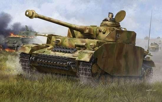 Trumpeter 00920 w skali 1:16 - model German Pzkpfw IV Ausf.H Medium Tank - image a4