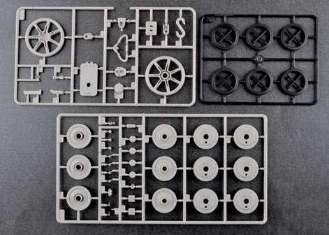 Trumpeter 00920 w skali 1:16 - model German Pzkpfw IV Ausf.H Medium Tank - image p