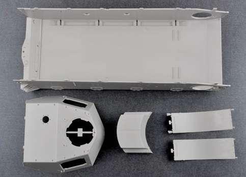 Trumpeter 00920 w skali 1:16 - model German Pzkpfw IV Ausf.H Medium Tank - image e
