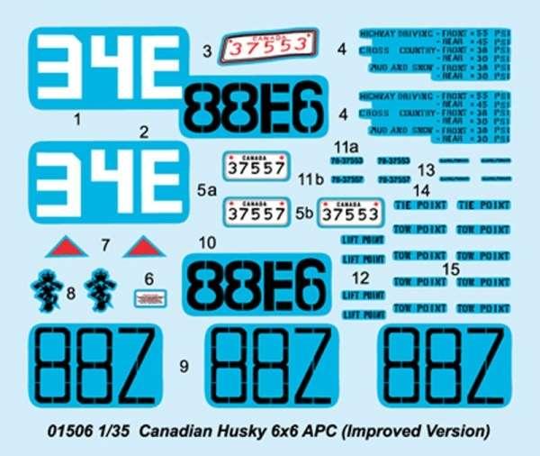 Trumpeter 01506 Canadian AVGP Husky Improved Version