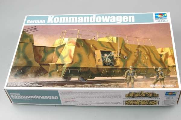 Trumpeter 01510 w skali 1:35 - model German Kommandowagen - image a