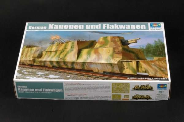 Trumpeter 01511 w skali 1:35 - model German Kanonen und Flakwagen do sklejania - image a-image_Trumpeter_01511_1
