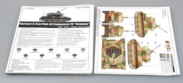 German 3.7cm Flak 43 Flakpanzer IV Ostwind model Trumpeter 01520 - model_tru01520_image_6-image_Trumpeter_01520_3