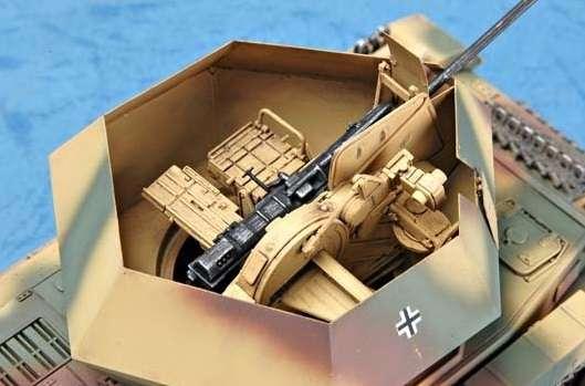German 3.7cm Flak 43 Flakpanzer IV Ostwind model Trumpeter 01520 - model_tru01520_image_2-image_Trumpeter_01520_2