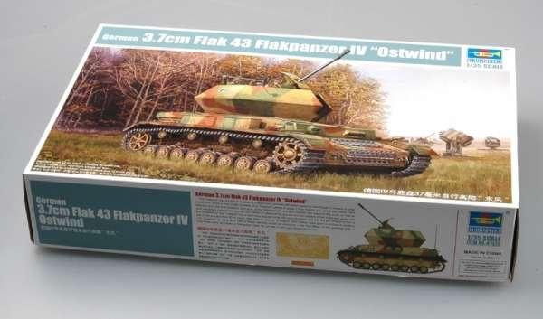 German 3.7cm Flak 43 Flakpanzer IV Ostwind model Trumpeter 01520 - model_tru01520_image_5-image_Trumpeter_01520_3