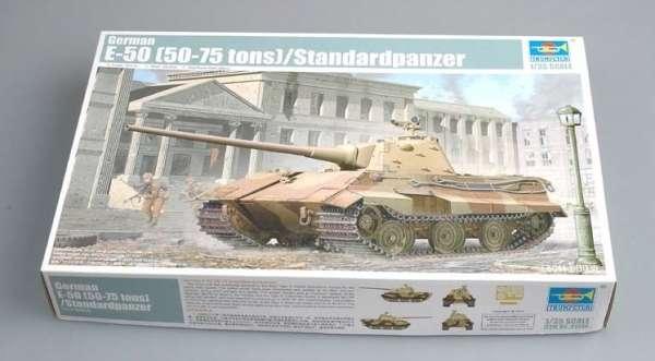Opakowanie modelu niemieckiego czołgu E-50-image_Trumpeter_01536_3