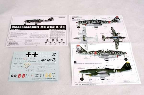 Myśliwiec Messerschmitt Me262 A-2a model_do_sklejania_trumpeter_02236_image_12-image_Trumpeter_02236_3