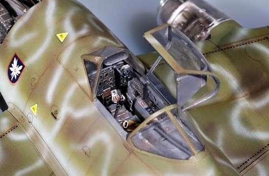 Myśliwiec Messerschmitt Me262 A-2a model_do_sklejania_trumpeter_02236_image_4-image_Trumpeter_02236_2