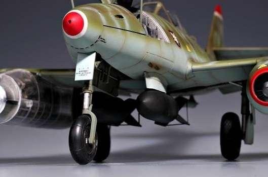 Myśliwiec Messerschmitt Me262 A-2a model_do_sklejania_trumpeter_02236_image_1-image_Trumpeter_02236_2