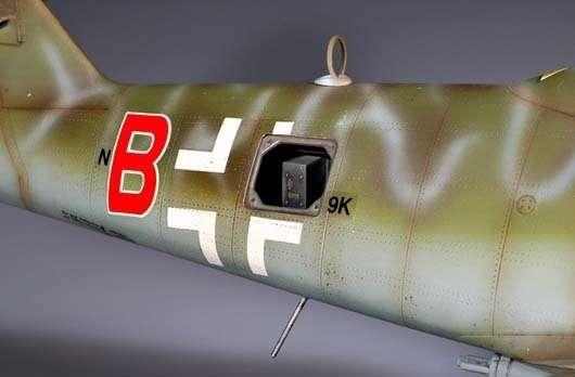 Myśliwiec Messerschmitt Me262 A-2a model_do_sklejania_trumpeter_02236_image_5-image_Trumpeter_02236_2