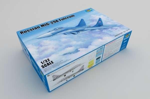 Model myśliwca MiG-29A Fulcrum w skali 1:32 do sklejania, Trumpeter_03223_image_1