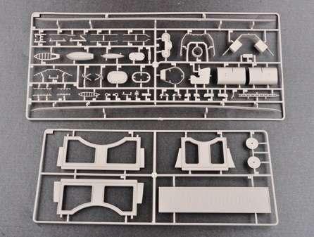 Brytyjski okręt wojenny - pancernik HMS Rodney w skali 1:200 plastikowy model do sklejania Trumpeter_03709_image_16