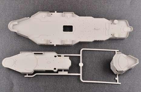 Brytyjski okręt wojenny - pancernik HMS Rodney w skali 1:200 plastikowy model do sklejania Trumpeter_03709_image_17