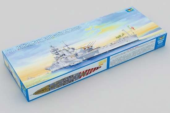 Model włoskiego pancernika RN Roma w skali 1:350 do sklejania, model Trumpeter 05318_image_1-image_Trumpeter_05318_3