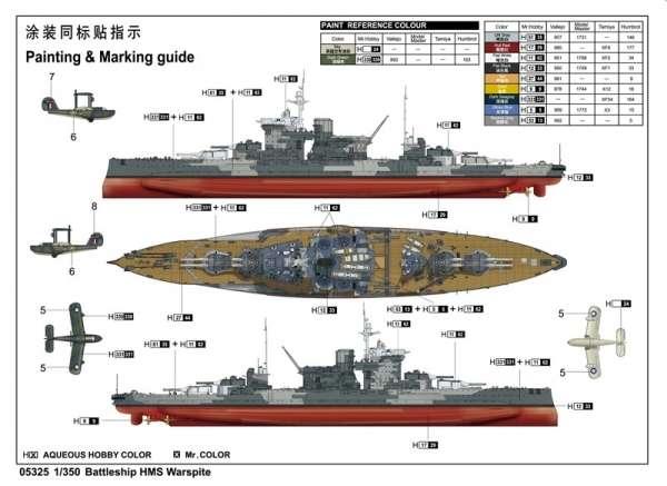 model_do_sklejania_okretu_hms_warspite_1942_trumpeter_05325_sklep_modelarski_modeledo_image_4