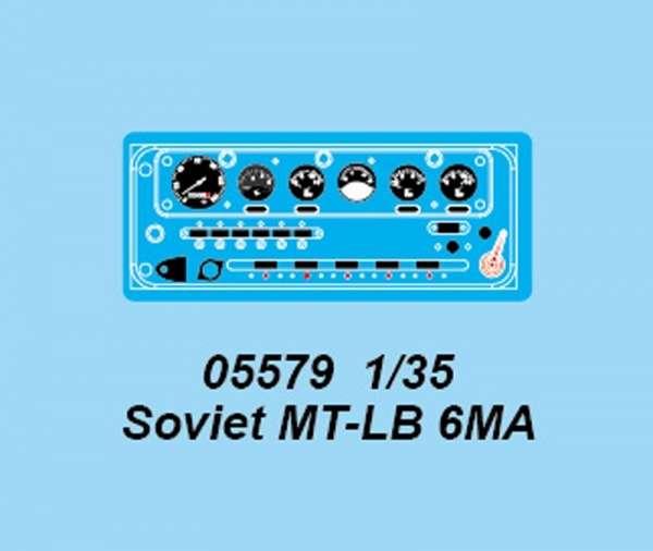 Trumpeter 05579 Transporter pływający MT-LB 6MA