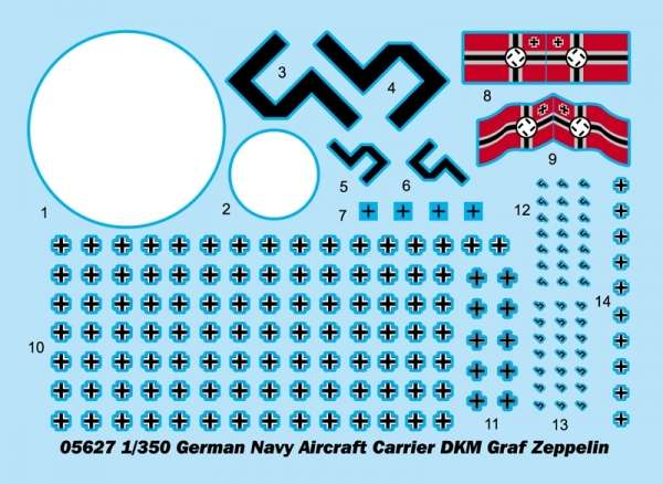 Model Trumpeter 05627 - Aircraft Carrier DKM Graf Zeppelin in scale 1/350 image_tru05627_2-image_Trumpeter_05627_1